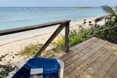 Beach deck view to beach